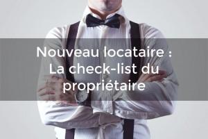 checklist du propriétaire